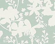 Produktbild: Oilily Home Tapete Oilily Atelier, florale Mustertapete, grau, weiß, 302741