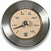 Produktbild: OPA Stainless & Wood Sauna Thermometer - Finnish Design -