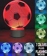 Optical Illusion 3D Football Lamp – Fußball Lampe