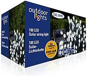 Outdoor Lights 98950 Lichterkette Solar Kunststoff bunt