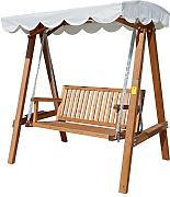 schaukelbank braun g nstig online kaufen lionshome. Black Bedroom Furniture Sets. Home Design Ideas
