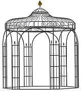 Gartenpavillon metall eckig  MPIRE Gartenpavillon günstig online kaufen | LIONSHOME