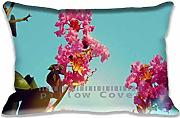 Pillow Cases Summer Flower II Unique Designs , Fashion Seasons Style Pillowcase Covers , Personalized Diy Cushion Cover for Home Office and Car