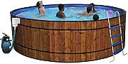 Pool Holz Barrica D 4.60 m h1.20 m – 4 M3/H