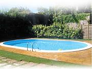 Pool interrata Gre Oval 600 x 320 x 150 cm