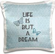 Produktbild: PS Inspirations - Life is But A Dream Butterflies - 16x16 inch Pillow Case (pc_192714_1)