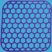 Produktbild: Purple Square Sink Mats 29x29 cm 10 Colours Dish Sink Drainer Scratch Protector by PHP