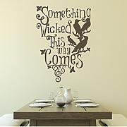 "Ravens Wand Decor Halloween Horror Vinyl Room Art DEKORATION, Vinyl, schwarz, 31""h x22""w"