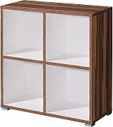 regale regal nussbaum g nstig online kaufen lionshome. Black Bedroom Furniture Sets. Home Design Ideas