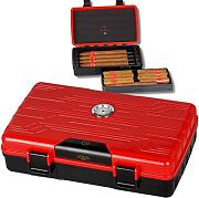 Reisehumidor de Luxe MYON of Paris Racing Edition Red inkl. Lifestyle-Ambiente Tastingbogen