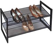 schuhregale schuhregal aus metall g nstig online kaufen lionshome. Black Bedroom Furniture Sets. Home Design Ideas