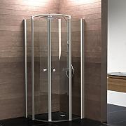 Duschabtrennung glas rund  Duschabtrennung Glas 90x90 günstig online kaufen | LIONSHOME