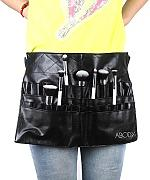 SkyRam (TM) Protable Kosmetik Make-up-Pinsel PVC Sch¨¹rze Tasche K¨¹nstler-Gurt-B¨¹gel Professionelle Make-up-Beutel-Halter