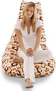 Smoothy Sitzsack Bean Bag Modell Lounge Chair Retro