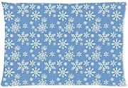 Produktbild: Snow Flower Pattern Style Pillowcase Cover 20x30 (one side) Cotton Pillow Case