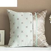 Sofa pillow cushion covers,european jacquard bed pillow-A 55x55cm(22x22inch)VersionA
