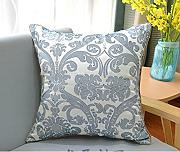sofa pillow cushions,embroidered flower bed pillow-A 45x45cm(18x18inch)VersionA