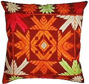 Southwest D?cor 18x18 Throw Pillow Cover - Decorative Cushion Cover with Zipper - Pillowcase for Couch Sofa Ottoman Bedroom / Home / Living Room D?cor by SouvNear