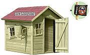 kinder gartenhaus g nstig online kaufen lionshome. Black Bedroom Furniture Sets. Home Design Ideas