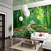 SPROUDBZ Hintergrund Tapete 3D Wallpaper 250 cmX 175 cm