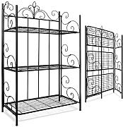 produktbild standregal aus metall gartenregal klappbar. Black Bedroom Furniture Sets. Home Design Ideas