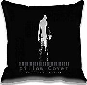 Produktbild: Street Ball Nation Illust Minimal Art Dark Pillow Covers Decor Cool Pillows Bedroon Living Room Decoration case/Kissenbezüge Cotton Zipperd , Personalized Fantasy Chair Cushions Covers