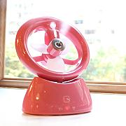 Student Dorm Room Büro Desktop Creative Befeuchtung Fan USB Charge Mini Fan Lovely ( Farbe : #1 )
