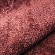 Tabley 'Chateau Uni': Rot Samt Polstermöbel Sofa Kissen Flammschutzmittel Stoff Material aus loome Stoffe, Tabley 'Chateau Plain' : Red, per metre