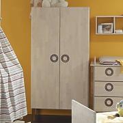 kleiderschrank 2 t rig taube g nstig online kaufen lionshome. Black Bedroom Furniture Sets. Home Design Ideas