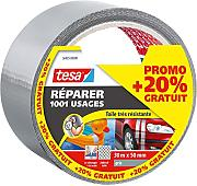 tesa 564950000000 Reparieren Extra Power Universal 25 m x 50 mm grau