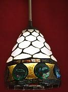 Tiffany Lampe Jewel Lamp