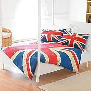 bettw sche union jack g nstig online kaufen lionshome. Black Bedroom Furniture Sets. Home Design Ideas