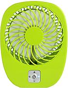 Usb Wiederaufladbare Mini Batterie Ventilator,Green
