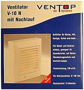 Ventilator V-10 N Aktion Air Systems V 10 N m. Nachlauf