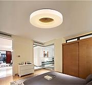 Versprechen Dimmen Decke Wohnzimmer Lampe Schlafzimmer Warmes Holz Minimalistischem Runden Balkon Gang Lichter LED