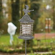 Videx Gartenstecker Windlicht Malu