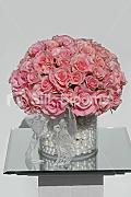 Vintage Touch Rosa Rose Perle Lace Floral Display &Tisch