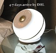 Produktbild: Wake Up Light With Colored Sunrise Simulation ,Alarm Clock & Radio& Speaker ,LED Table Lamp ,Led Night Light ,4 in 1,White DHL delivery ,4-7days arrive by Vanmengeo