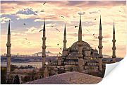 Wallprints - Wallprint W - Blaue Moschee