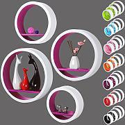 wandregal rund g nstig online kaufen lionshome. Black Bedroom Furniture Sets. Home Design Ideas