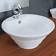 Doppelwaschbecken rund  Aufsatzwaschbecken Keramik günstig online kaufen | LIONSHOME