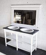 Waschtischunterschrank weiß landhaus  Doppelwaschtisch Mit Unterschrank Landhaus | gispatcher.com