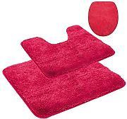 wc vorleger rot g nstig online kaufen lionshome. Black Bedroom Furniture Sets. Home Design Ideas