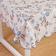 Produktbild: Wipe Clean PVC Vinyl Tablecloth Dining Kitchen flower Table Cover Protector Size 106x152cm Style 6