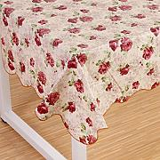 Produktbild: Wipe Clean PVC Vinyl Tablecloth Dining Kitchen flower Table Cover Protector Size 137x183cm Style 9