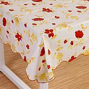 Produktbild: Wipe Clean PVC Vinyl Tablecloth Dining Kitchen flower Table Cover Protector Size 137x183cm Style 3