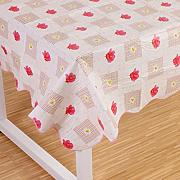 Produktbild: Wipe Clean PVC Vinyl Tablecloth Dining Kitchen flower Table Cover Protector Size 137x183cm Style 1