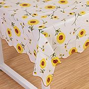 Produktbild: Wipe Clean PVC Vinyl Tablecloth Dining Kitchen flower Table Cover Protector Size 106x152cm Style 7