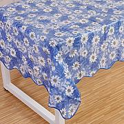 Produktbild: Wipe Clean PVC Vinyl Tablecloth Dining Kitchen flower Table Cover Protector Size 106x152cm Style 8