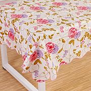 Produktbild: Wipe Clean PVC Vinyl Tablecloth Dining Kitchen flower Table Cover Protector Size 137x183cm Style 5